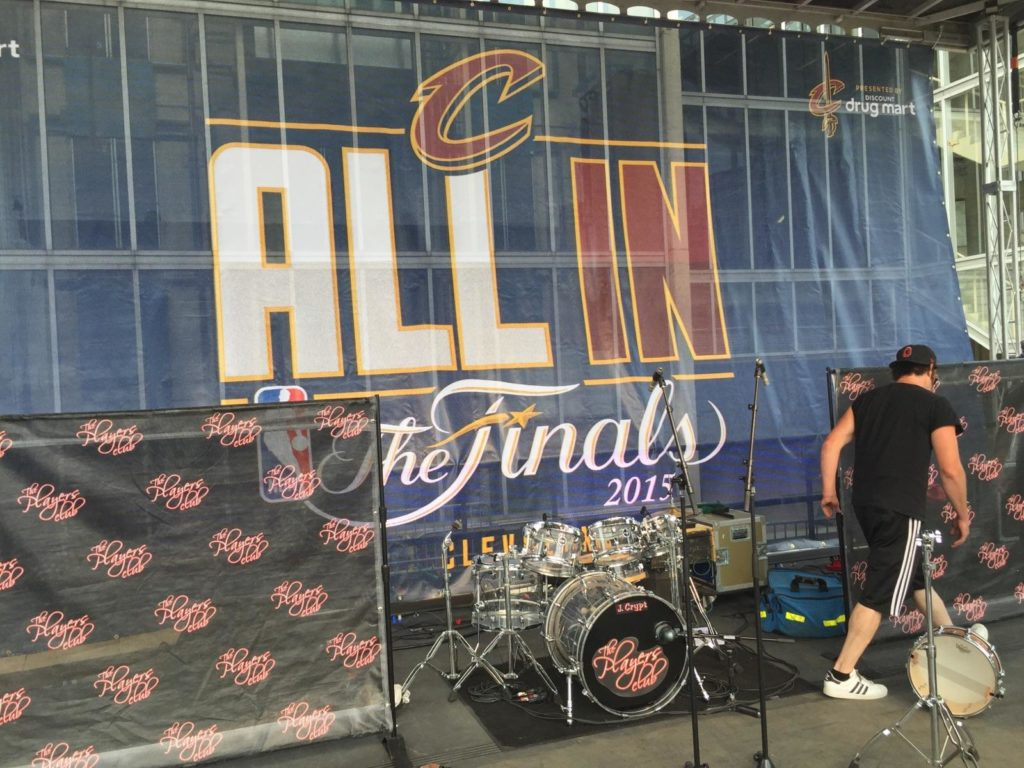 nba finals performance, The Players Club, party band live performance