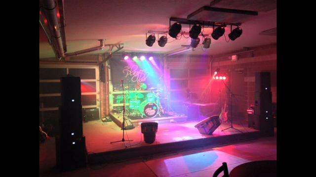 Live performance set up, party band for ohio, the players club