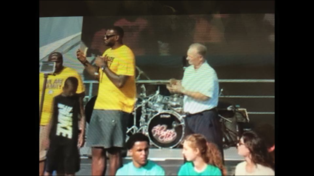 Special event live performance, party band performing for Lebron in Ohio